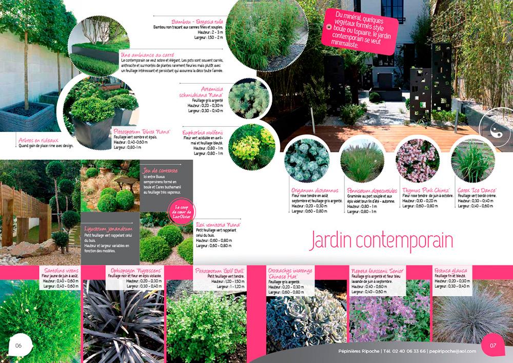 Végétaux, minéraux pour des jardins contemporains