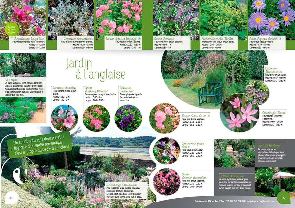 Massifs rosier pour des jardins l 39 anglaise reposants for Plan amenagement jardin anglais