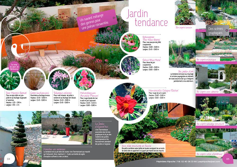 pépinière ripoche près de nantes vous propose des idées jardins tendances