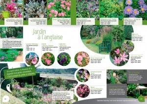 jardins à l'anglaise, tendance pépinière près de nantes